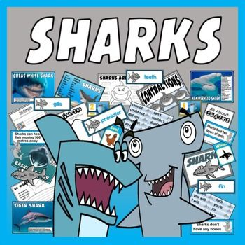 INFORMATION Shark information pack - including facts about habitats, species, diet, skills etc. 19 A4 posters about different types of sharks - includes photos and key facts about each shark type Shark facts flashcards - good for discussions or display Key word cards Map of the world Maps showing each ocean around the world Shark facts poster - A4 - showing simple general information about sharks Sharks photo pack Sea life photo pack Shark flashcards A5 size
