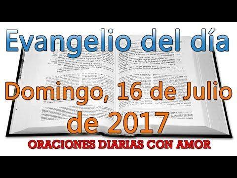 Evangelio del día Domingo, 16 de Julio de 2017 - YouTube