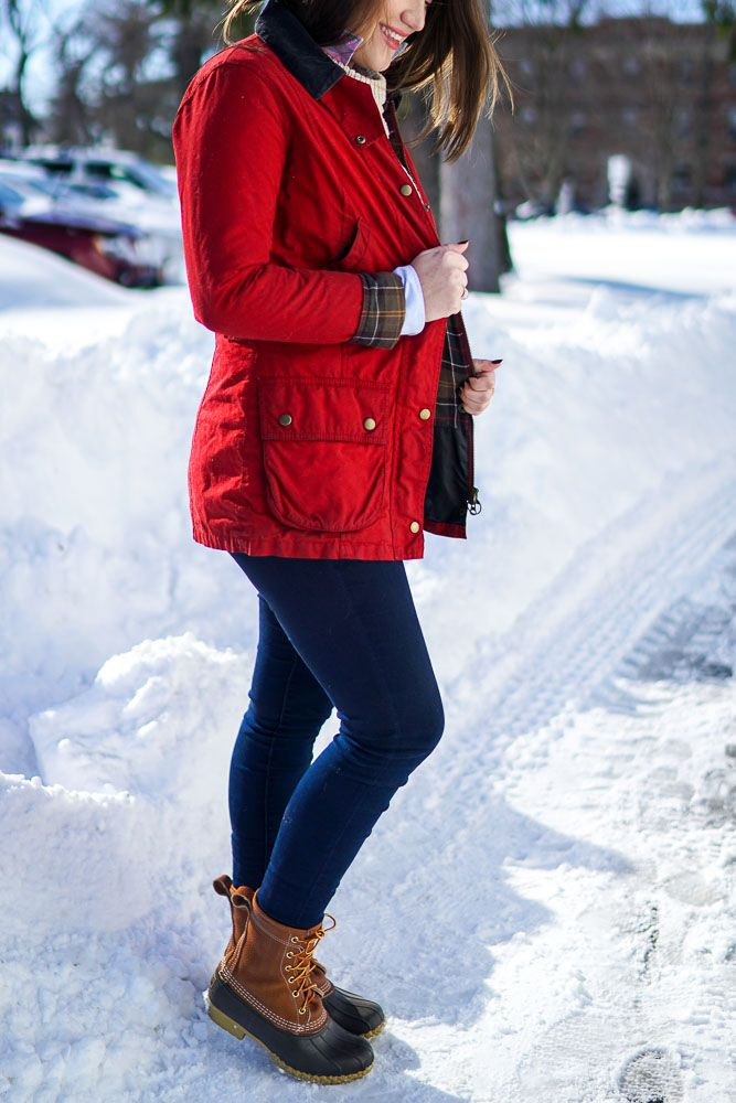 Preppy Winter Fashion with Barbour and LL Bean | Covering the Bases | Fashion and Travel Blog New York City