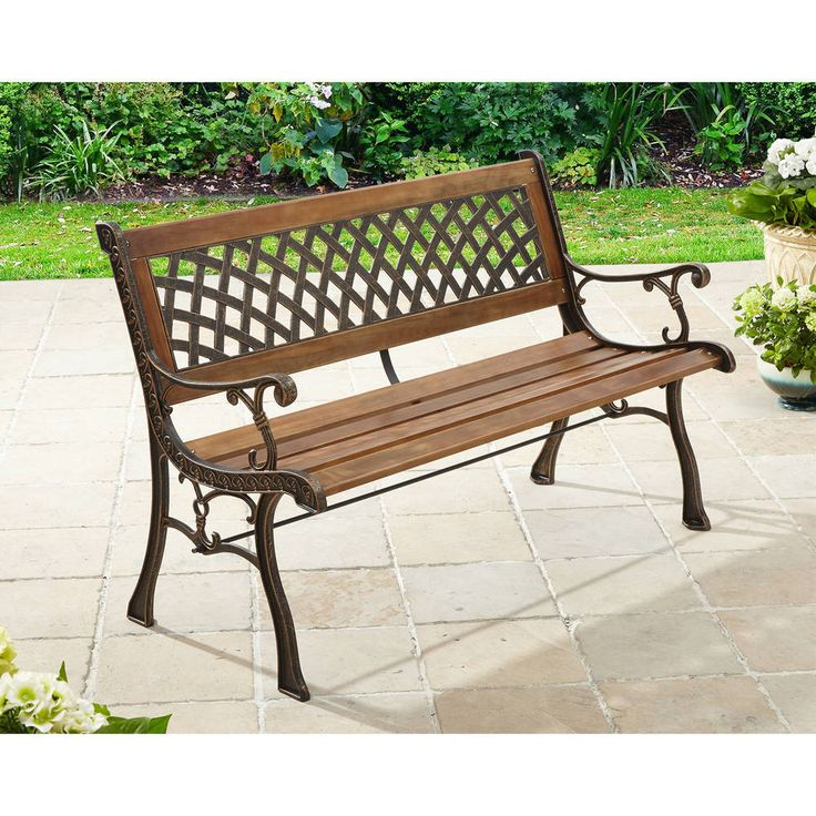 peachy better homes and gardens patio furniture replacement cushions. Bench Garden Patio Outdoor Furniture Porch Chair Park Seat Wood Bronze  Antique Better Homes 67 best Furnitures images on Pinterest Great deals Living room