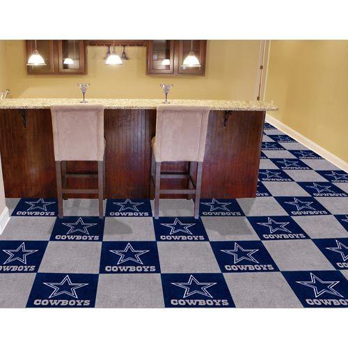 4x6 Rugs Fan Mats NFL Dallas Cowboys Inch Carpet Tiles