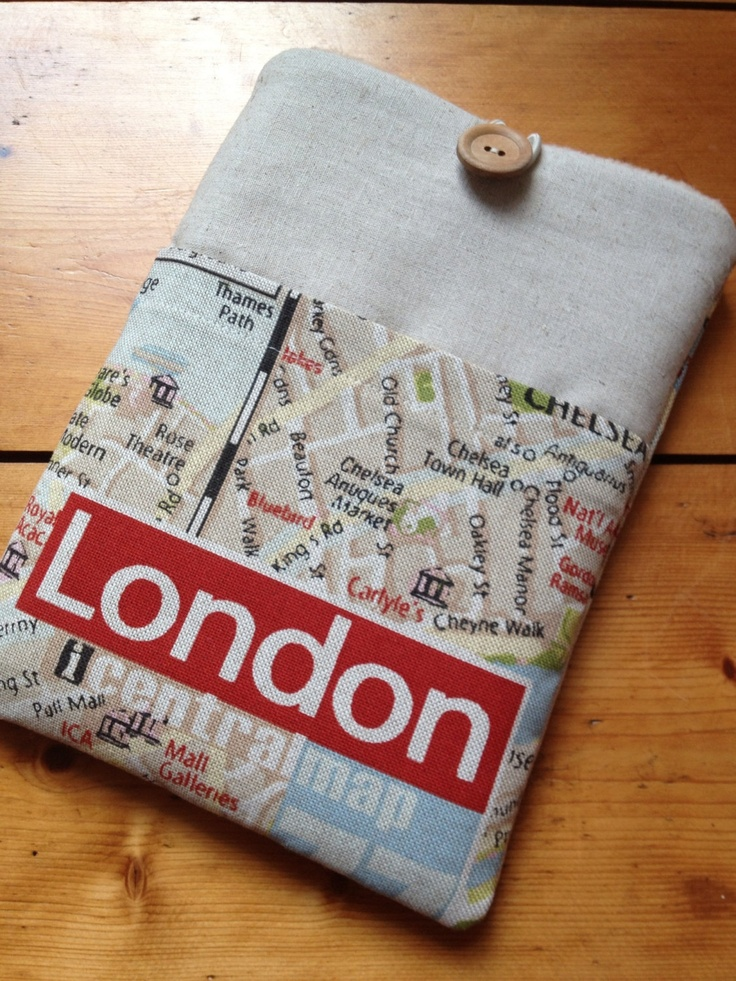 Apple's maps are not the best, but with this sleeve you won't get lost in London.
