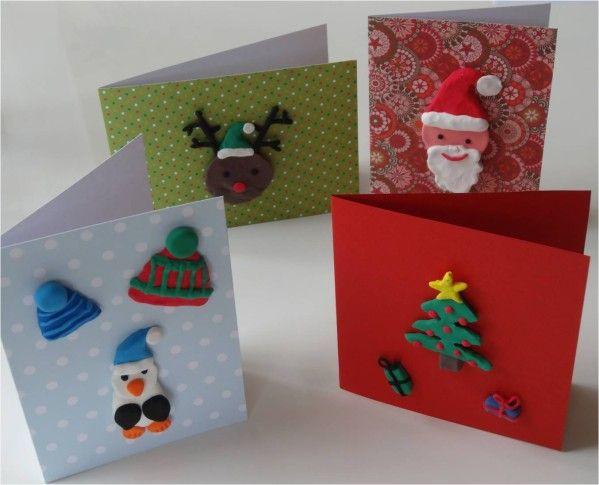 4 DIY faciles de cartes de voeux à faire par les enfants !   Lucky
