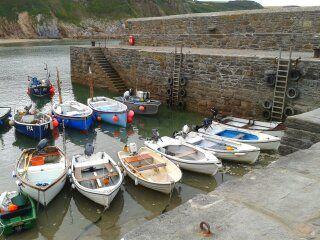 Harbour at Gorran Haven, Cornwall UK :) x