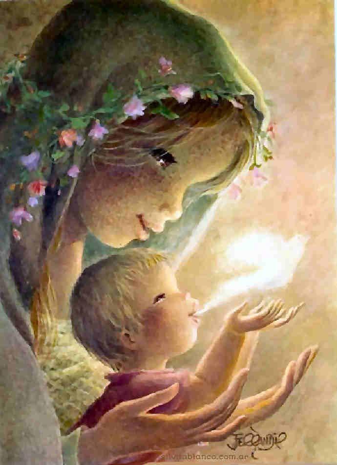 Virgen y el niño - Ferrándiz