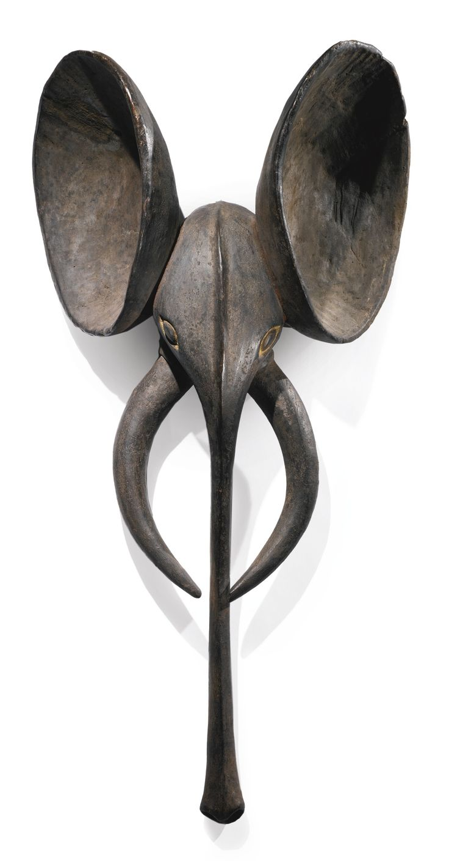 Babanki Elephant Mask, Western Grasslands, Cameroon