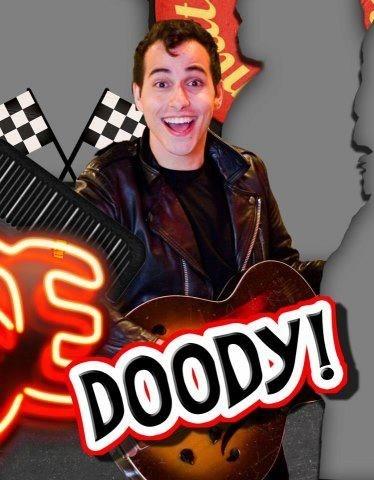 Doody in Footlight Grease!