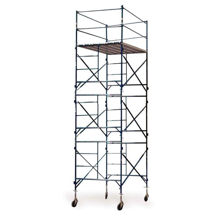 30 Foot Scaffolding : Ideas about rolling scaffold on pinterest