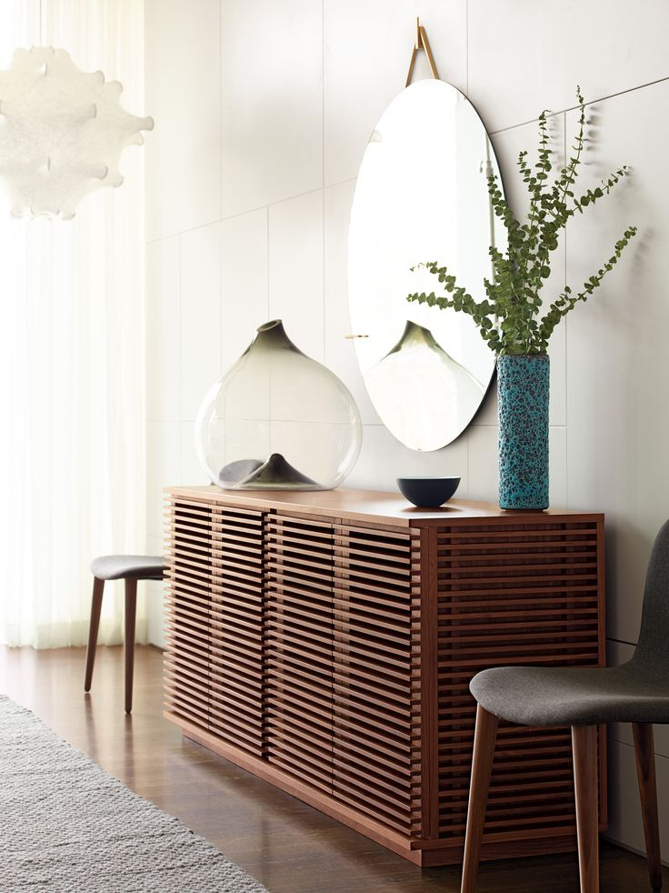 Line Credenza | Designed by Nathan Yong