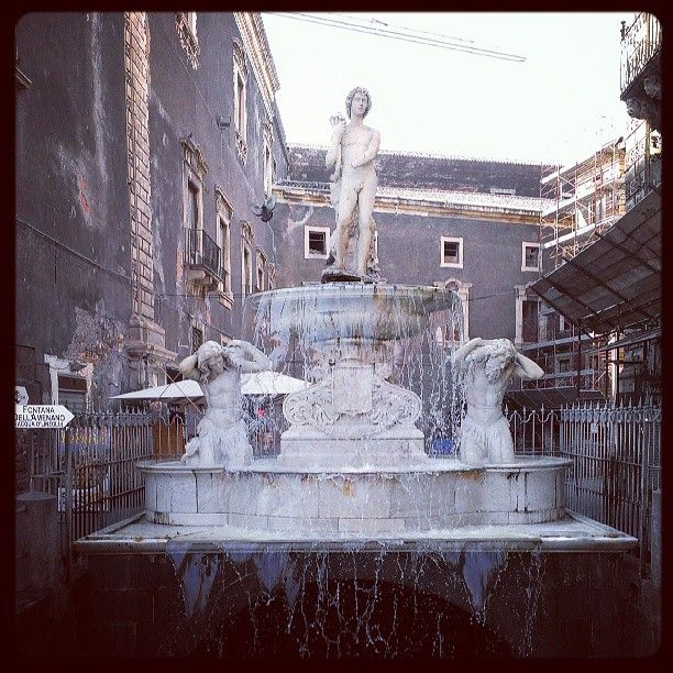 Fontana dell'amelano - Catania