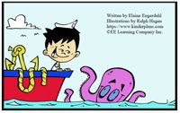 """Alphabet Sight Word Reader  Exploring the Sea With Ollie Octopus - """"Oo"""" Focus Letter"""