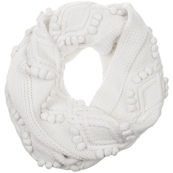 3.1 Phillip Lim Cable-knit wool scarf (7 750 UAH) ❤ liked on Polyvore featuring accessories, scarves, ivory, woolen scarves, ivory shawl, 3.1 phillip lim, wool scarves and woolen shawl