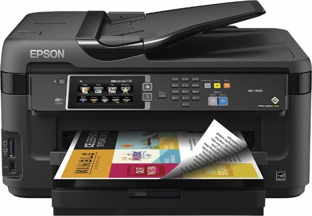 Epson WorkForce WF7610 NetworkReady WideFormat