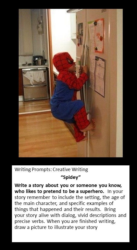 Creative writing service picture prompts