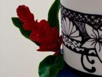 Teuila flower 65th birthday cake