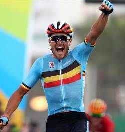 Greg Van Avermaet wins road race as last man standing on tough Rio 2016 Olympic course