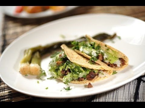 Tacos de suadero - Recetas de tacos - Mexican taco recipes - YouTube