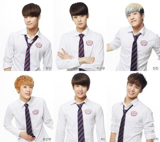 Fantagio's New Boy Group ASTRO Introduces Its Members // JinJin, Sanha, Eun Woo, Moon Bin, Rocky, and MJ