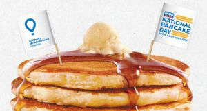 IHOP National Pancake Day: FREE Short Stack of Pancakes 3/3 (No Purchase Necessary)