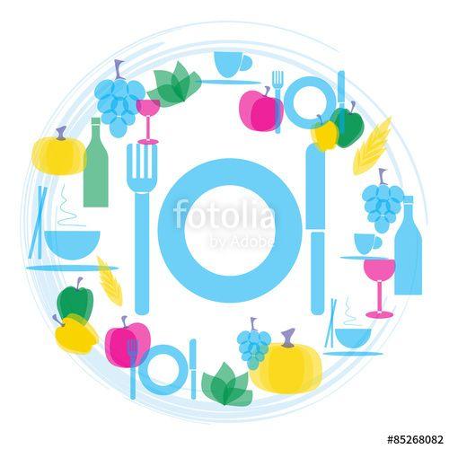 Illustrazione gastronomia e ristorazione