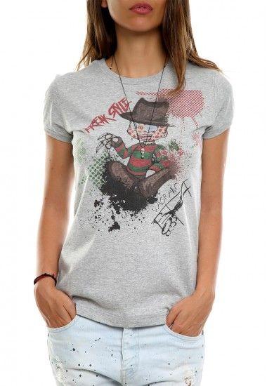freak style gray #vagrancylifestyle #handmade #tshirt #woman