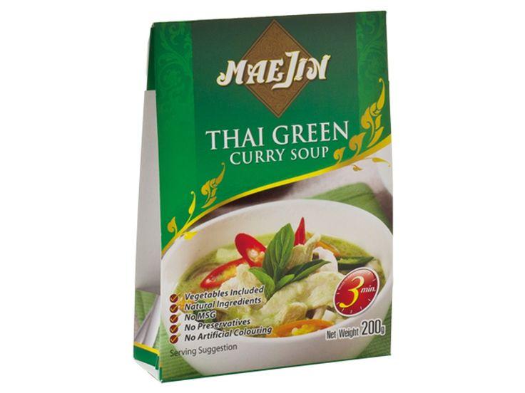 Groene curry #soep