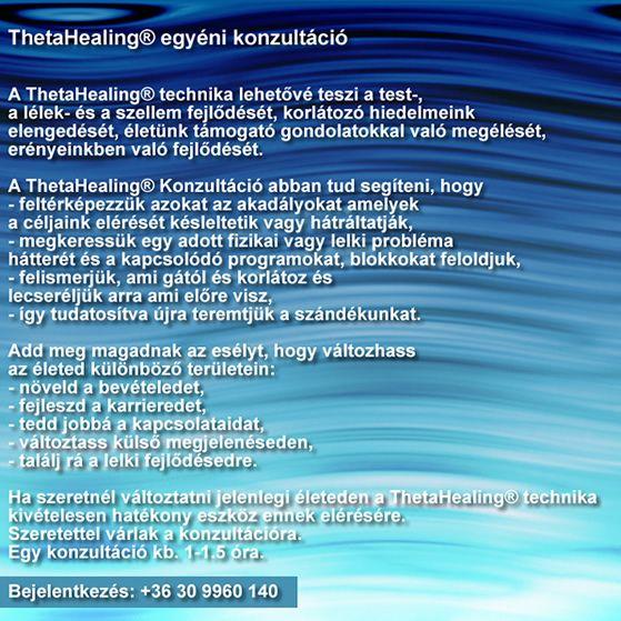 Kenéz Krisztina  ThetaHealing® oktatás és konzultáció