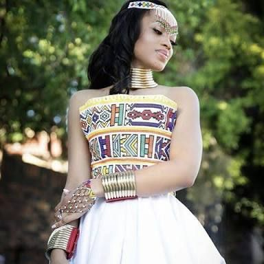 Image result for ndebele traditional attire