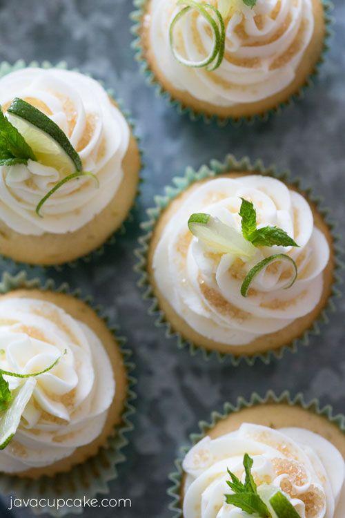 Mojito Cupcakes | The JavaCupcake Blog http://javacupcake.com