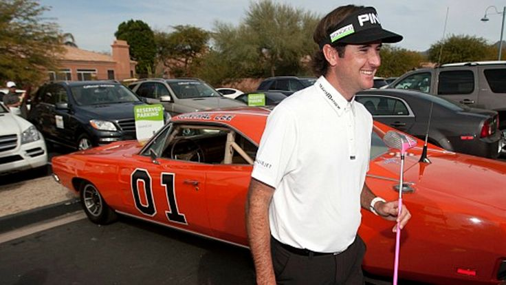 His antics and his Christianity are part of his personality. Bubba Watson just won his 9th PGA tournament.