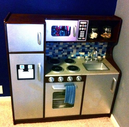 101 best diy play kitchens images on pinterest