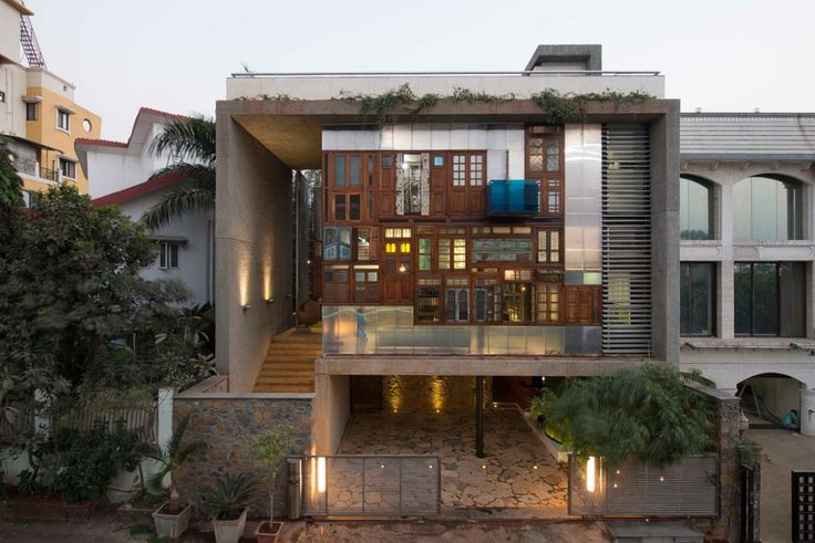 S+PS Architects (США). Дом-коллаж в Индии — Д.Журнал