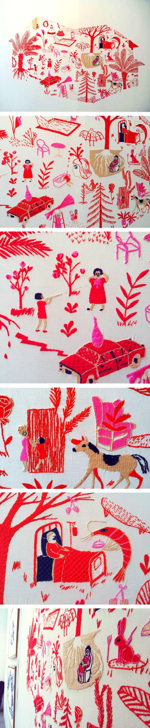 hasta mostla embroidery