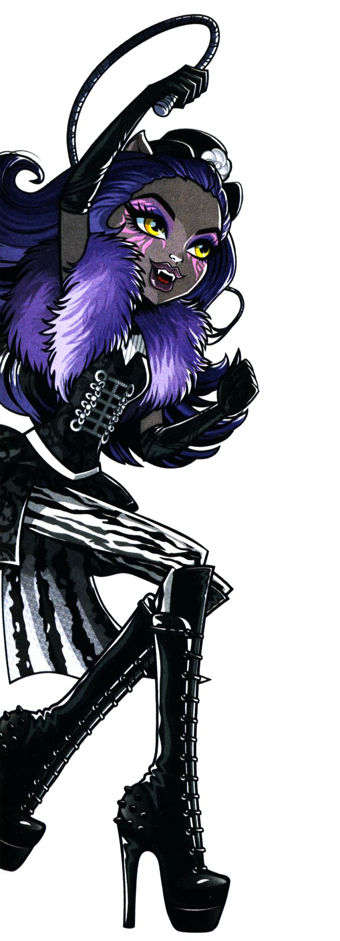 Clawdeen Wolf. Freak Du Chic. Profile art