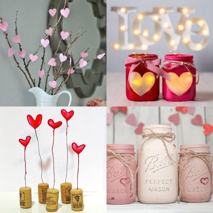 Oltre 25 fantastiche idee su fai da te per san valentino - San valentino decorazioni ...