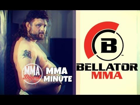 MMA Roy Nelson signs with Bellator MMA