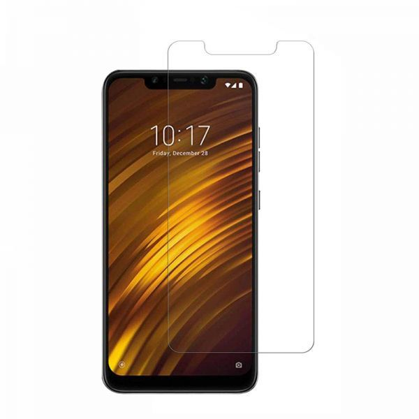 Protective Xiaomi Pocophone F1 Tempered Glass Hd Clear Screen Protector Clear Tempered Glass Tempered Glass Screen Protector Glass Screen Protector