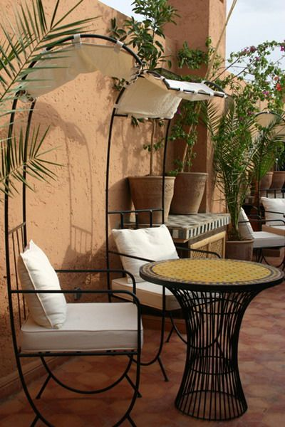 moroccan garden furniture. courtyards and patio garden maroccan style picture photo moroccan furniture