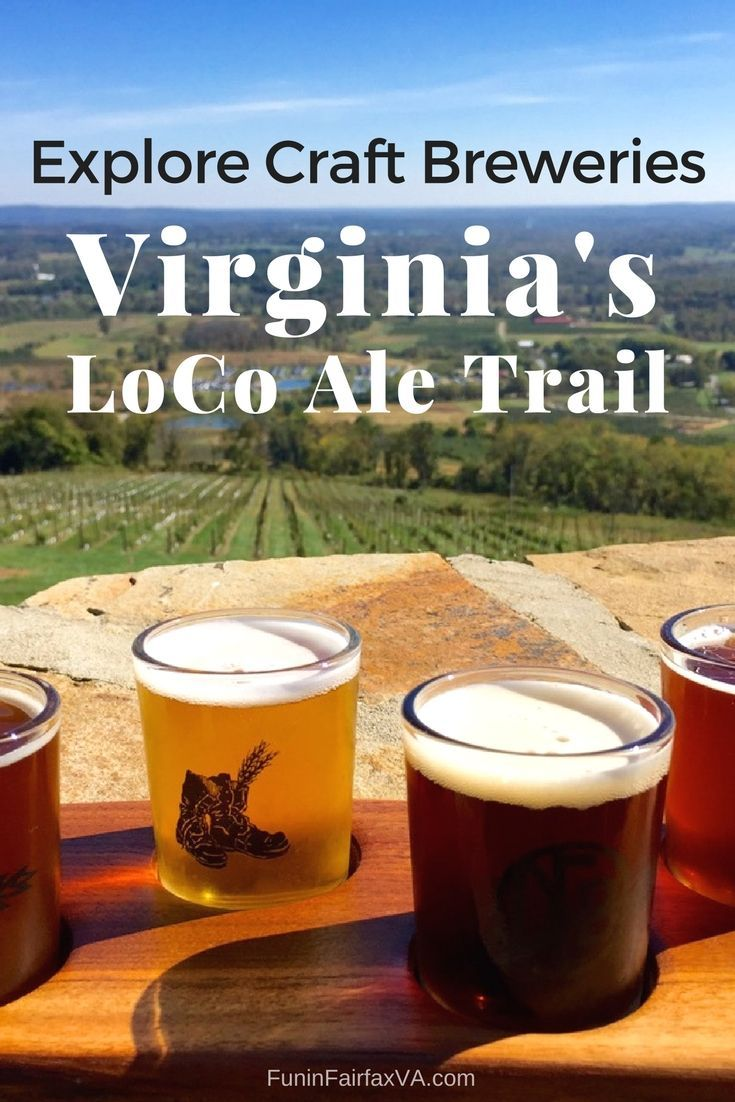 Loudoun County Virginia's LoCo Ale Trail offers a range of fun spaces to drink tasty, local craft brews while you explore small towns and country roads.