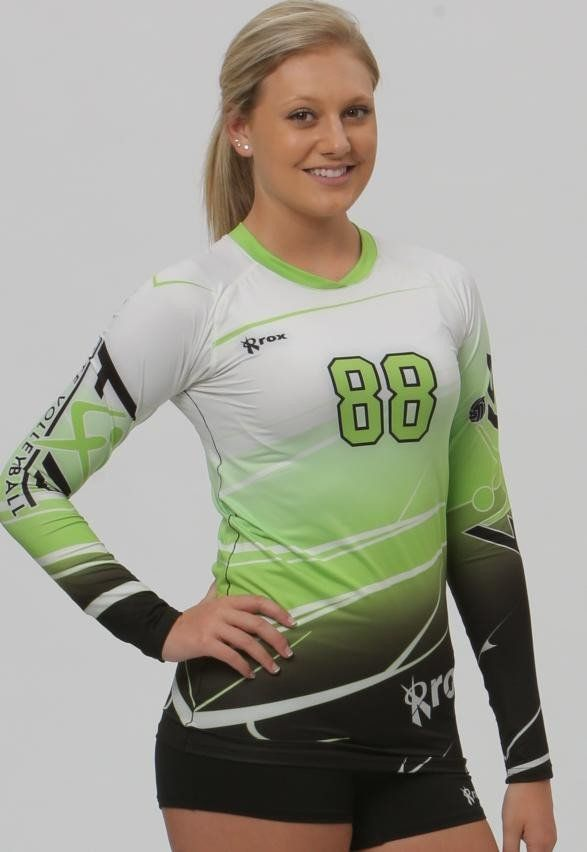 Fully Custom Sublimated Volleyball Jersey the Shaded design works well as a two or three color. CALL TO ORDER: 1-877-878-8327   Material: Battle Pro 88% Polyester/12% Spandex Battle Pro offers a moisture control fabrication Semi Conform Athletic Cut Long Sleeve, 1/4 Sleeve and Cap Sleeve  Sizes XXS-XXL BORN IN THE USA   More Information on how to order: Policies and Procedures