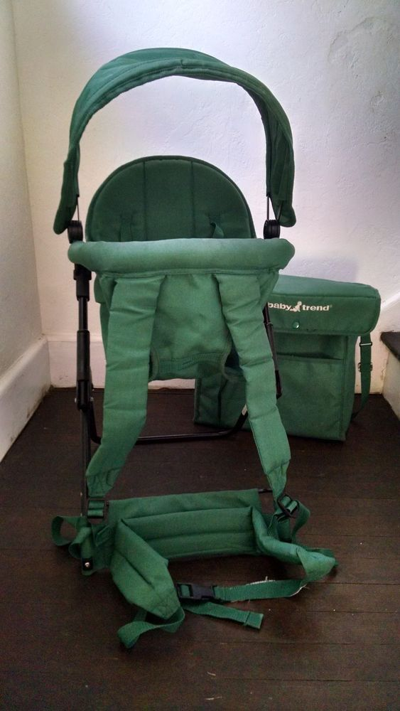 Baby Trend Hiking Backpack Baby Toddler Carrier Green