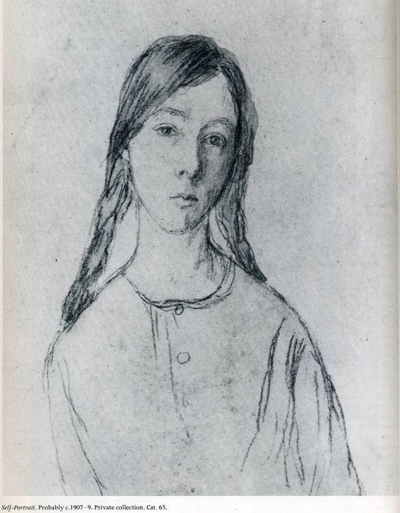 Self Portrait, Gwen John - Women in Art History