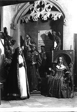 Ilustración 04. Depósito de obras de arte en la Capilla de Comontes de la Catedral de Murcia. (AMUBAM 0331-01).REVISTA DE PATRIMONIO