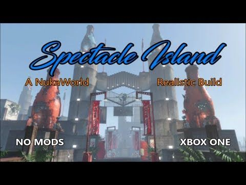 Fallout 4 Spectacle Island (A Nuka World Themed settllement build) - YouTube