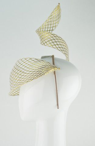 Sparkler Visor (Gold) - Rebecca Share - http://www.rebeccashare.com.au/