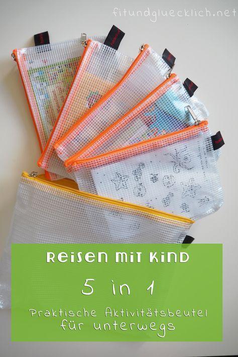 {Reisen mit Kind} Aktivitätsbeutel DIY (+Freebie!)