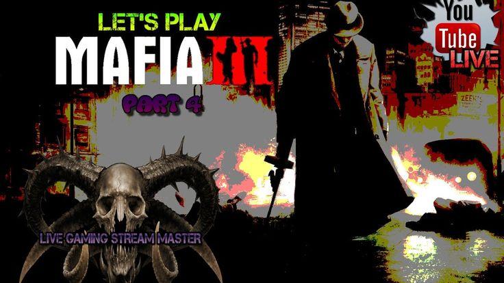 LET'S PLAY MAFIA 3 PART 4   BATTLEFIELD 1   PS4 LIVESTREAM