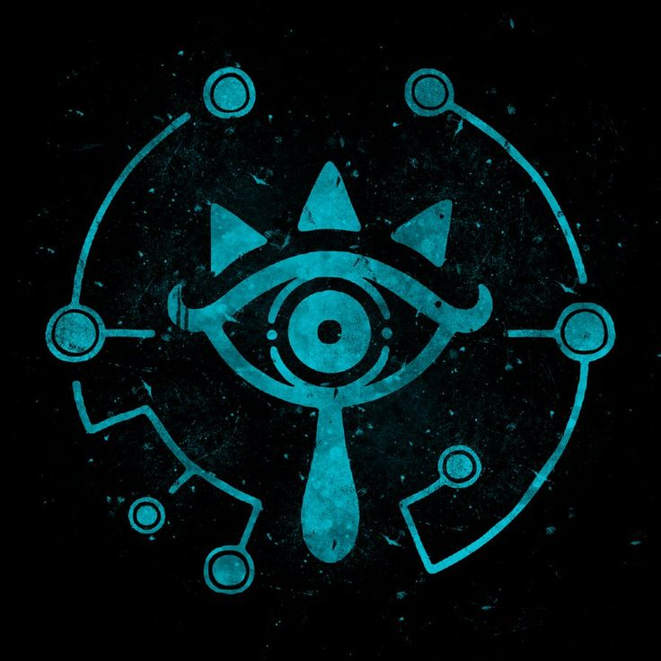 Sheikah Eye - Breath of the Wild by zeldaddicted