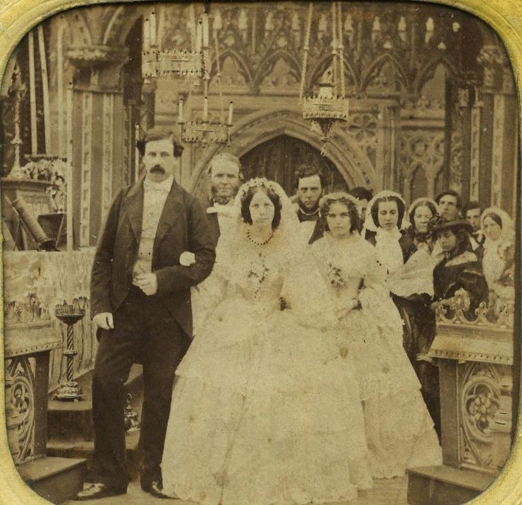 39 best 1800's weddings images on Pinterest | Vintage ...