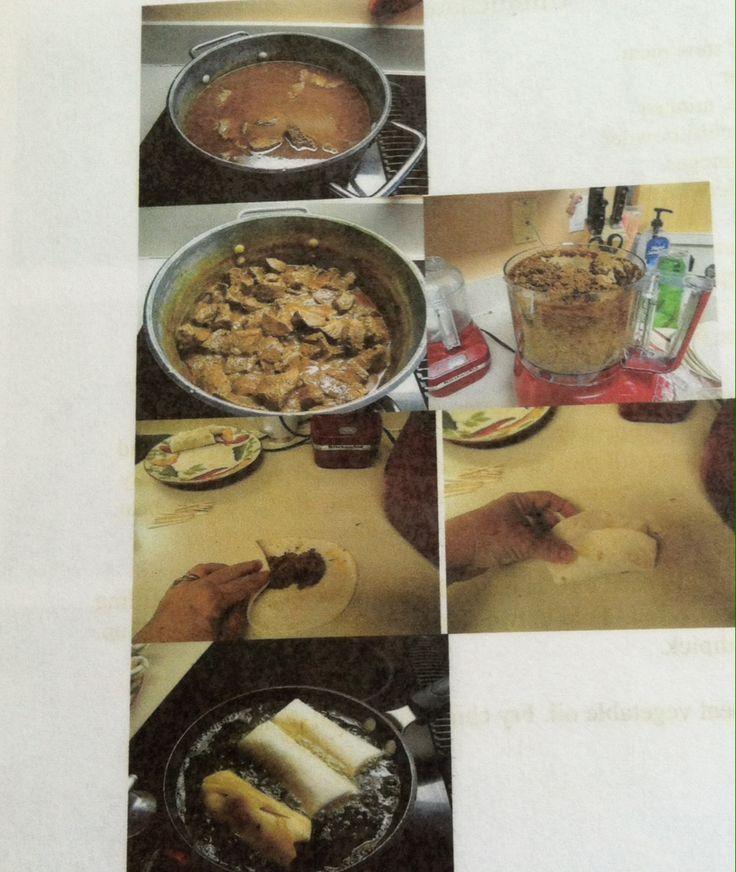 How to make chimichangas